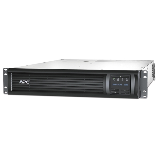 ИБП APC Smart-UPS 2200VA/1980W, RM 2U, Line-Interactive, LCD, Out: 220-240V 8xC13 (4-Switched) 1xC19, EPO, Pre-Inst. Network Card-11121