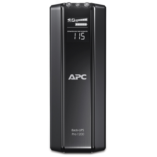ИБП APC Back-UPS Pro Power Saving RS, 1200VA/720W, 230V, AVR, 10xC13 outlets (5 Surge & 5 batt.), Data/DSL protrct, 10/100 Base-T, USB, PCh, user repl BR1200GI