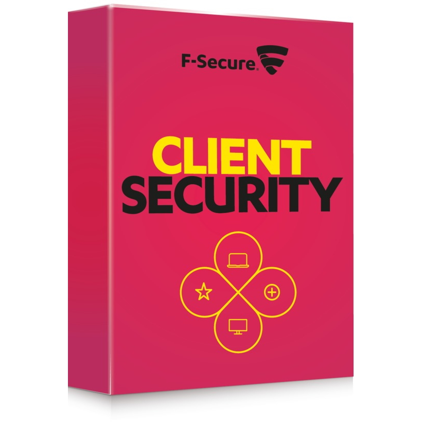 F-Secure Client Security subscription for 1 month (100-499), International