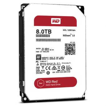 "Жесткий диск Western Digital HDD 8000Gb 3.5"" SATA-III WD80EFZX"