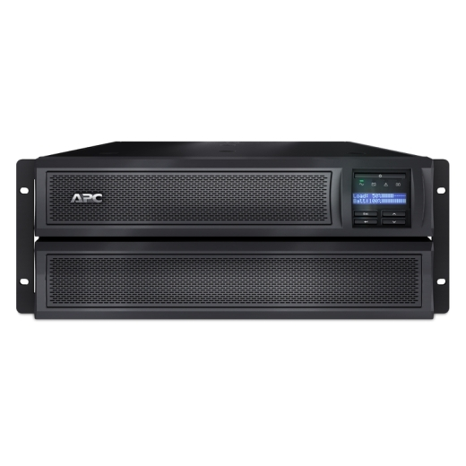 ИБП APC Smart-UPS X 2200VA/1980W, RM 4U/Tower, Ext. Runtime, Line-Interactive, LCD, Out: 220-240V 8xC13 (3-gr. switched) 2xC19, SmartSlot, USB, COM, E SMX2200HV