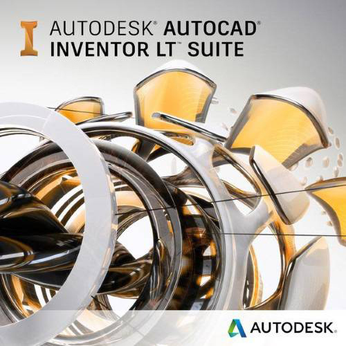 AutoCAD Inventor LT Suite 2020 Commercial New Single-user ELD 3-Year Subscription