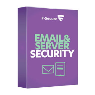 F-Secure Email and Server Security subscription for 1 month (100-499), International