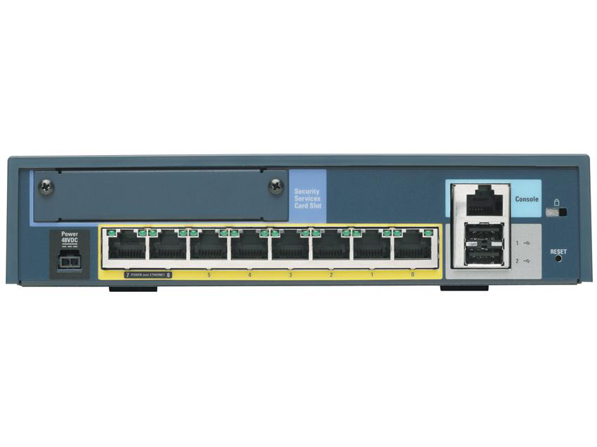 ASA5505-UL-BUN-K8 [ASA 5505 Appliance with SW, UL Users, 8 ports, DES]-15171