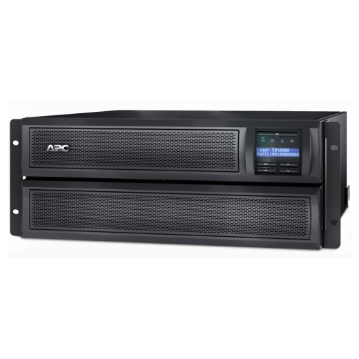 ИБП APC Smart-UPS X 2200VA/1980W, RM 4U/Tower, Ext. Runtime, Line-Interactive, LCD, Out: 220-240V 8xC13 (3-gr. switched) 2xC19, SmartSlot, USB, COM, E-11570