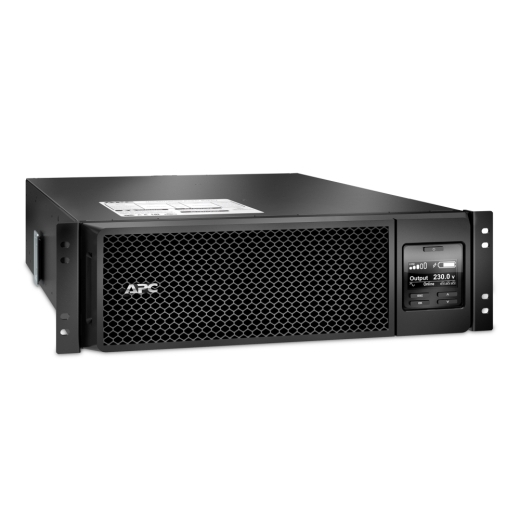 ИБП APC Smart-UPS SRT RM, 5000VA/4500W, On-Line, Extended-run, Rack 3U (Tower convertible), Pre-Inst. Web/SNMP, with PC Business, Black-11548