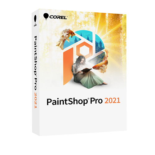 PaintShop Pro 2021 Corporate Edition License (251-500) LCPSP2021ML4