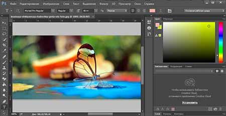 Как вырезать часть картинки с помощью Photoshop | 231x450